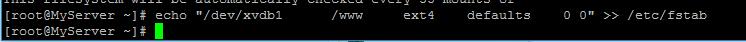 CentOS如何磁盘挂载