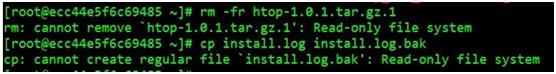 Linux/centos 无法打包-报错 Read-only file system 的解决方法-学派吧